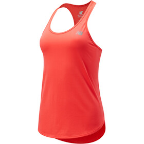 New Balance Accelerate Tank Women, vivid coral